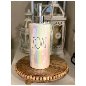 Rae Dunn Iridescent Soap Dispenser Pump